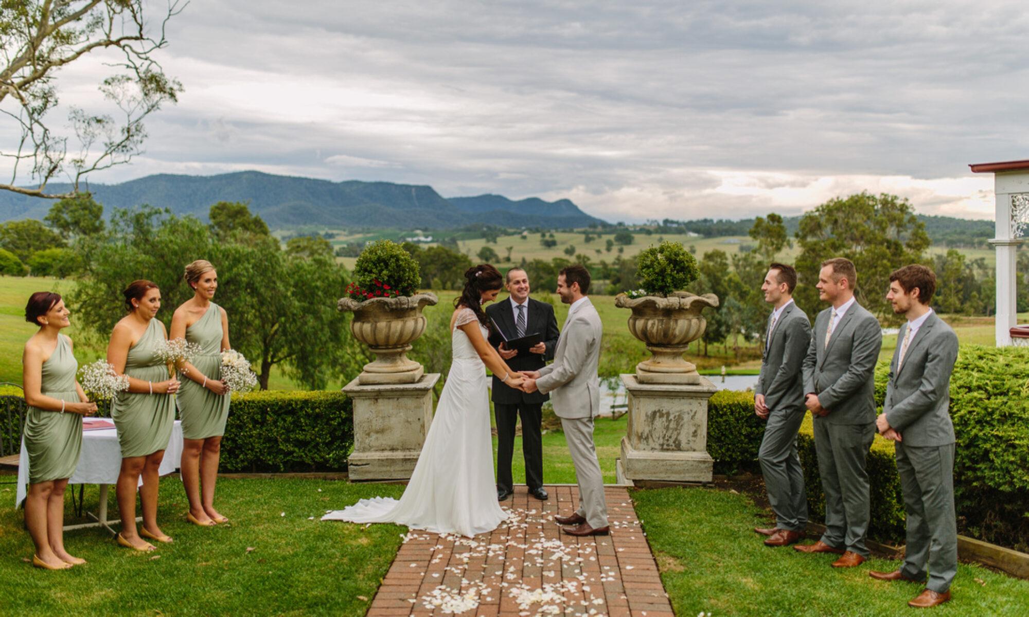 Jason Thomas - Hunter Valley Marriage Celebrant